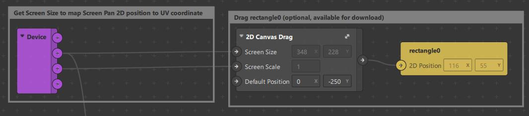 Drag 2D object on canvas Spark AR Studio