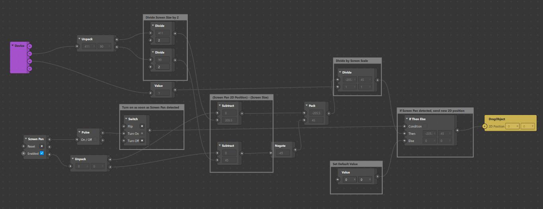 Drag 2D Object Spark AR Studio Patch