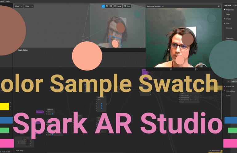 Color Sampler Spark AR Studio
