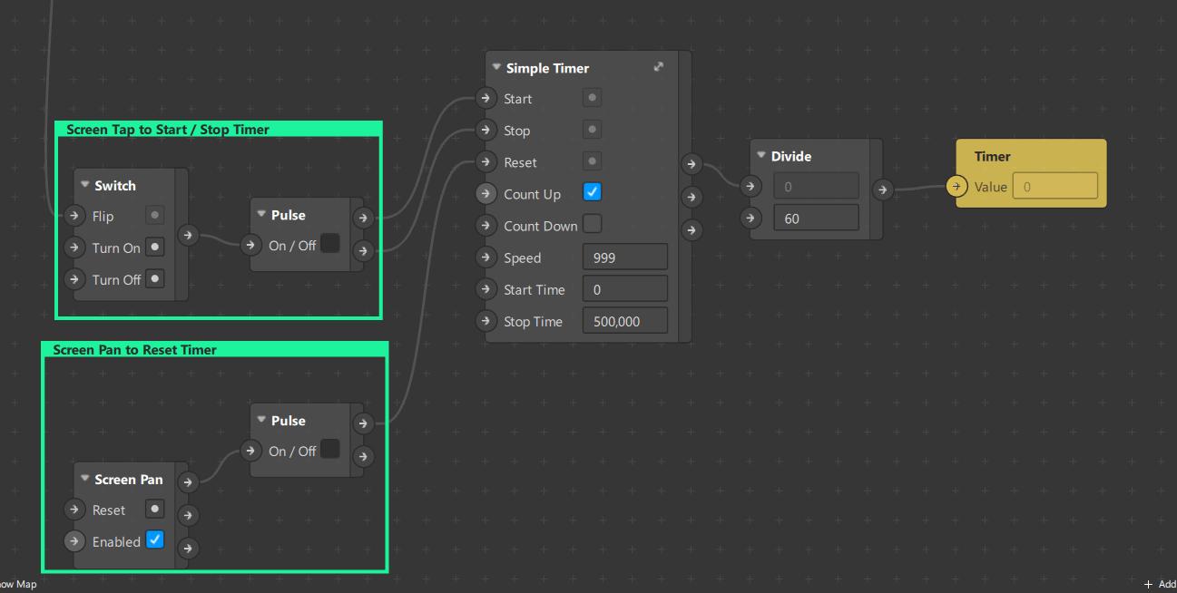 Millisecond Timer with Simple Timer Spark AR Studio