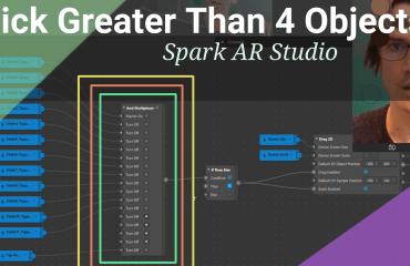 Pick Many Objects Spark AR Studio