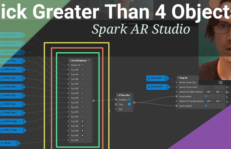 Pick Multiple Objects: Spark AR Tutorial