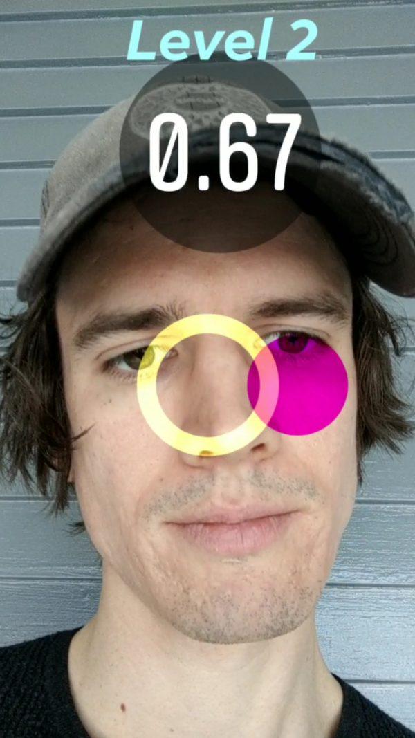 Blink Catch Instagram Game Filter