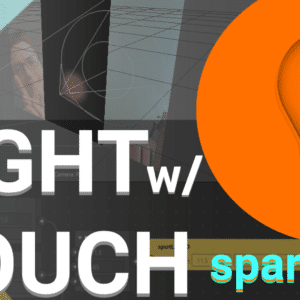 Light with Touch Free Spark AR Template