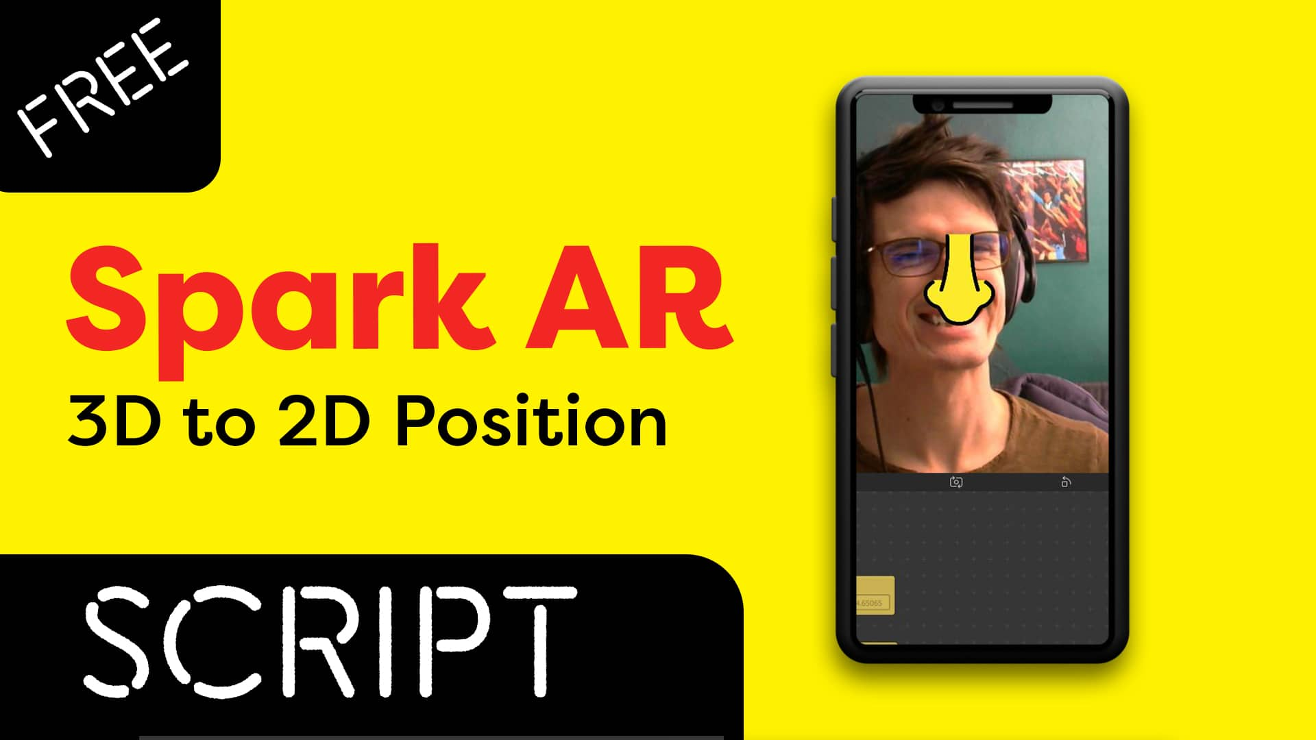 Spark AR 3D to 2D Position
