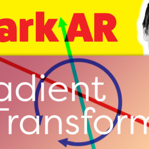 Spark AR Gradient Transform